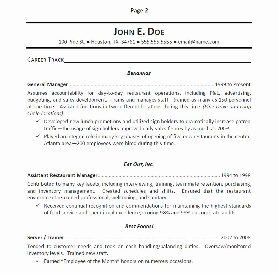 Awards and Achievements Resume – Perfect Resume format