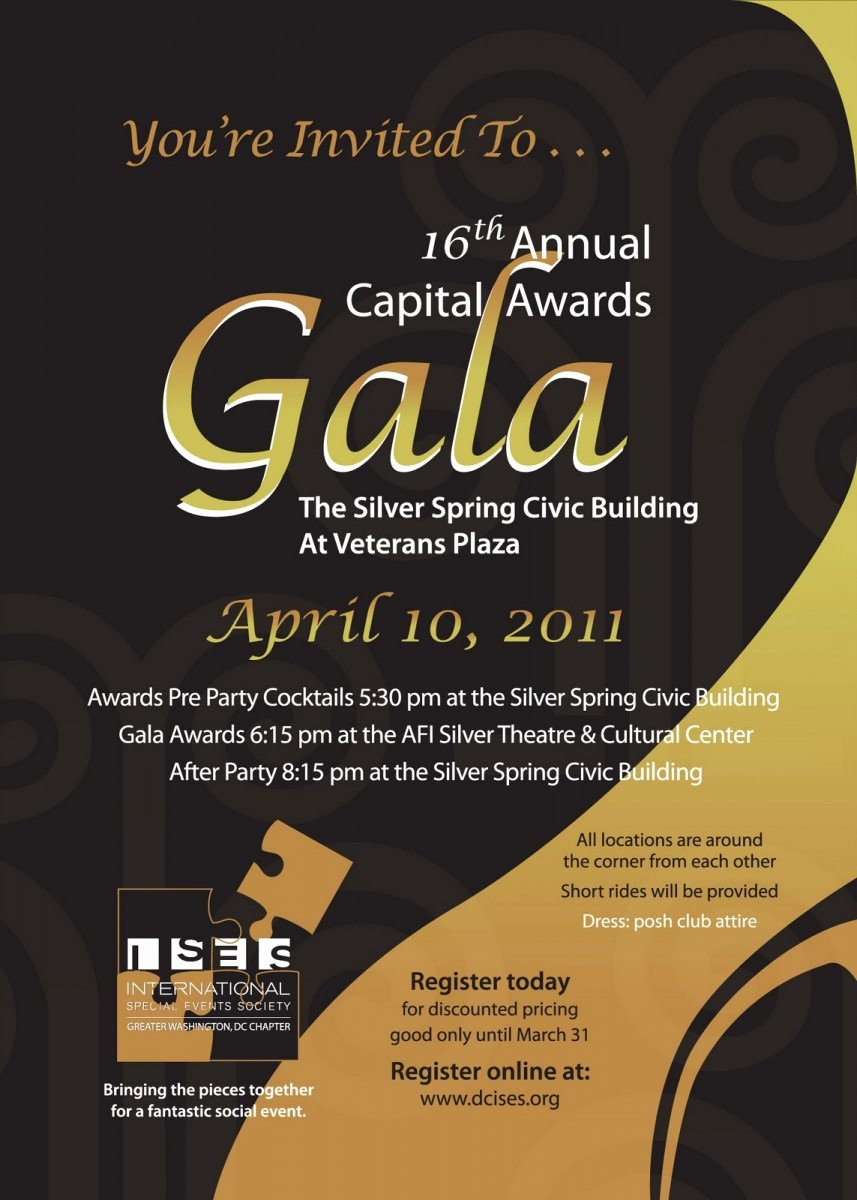 Awards Ceremony Invitations Templates – Omg Invitation