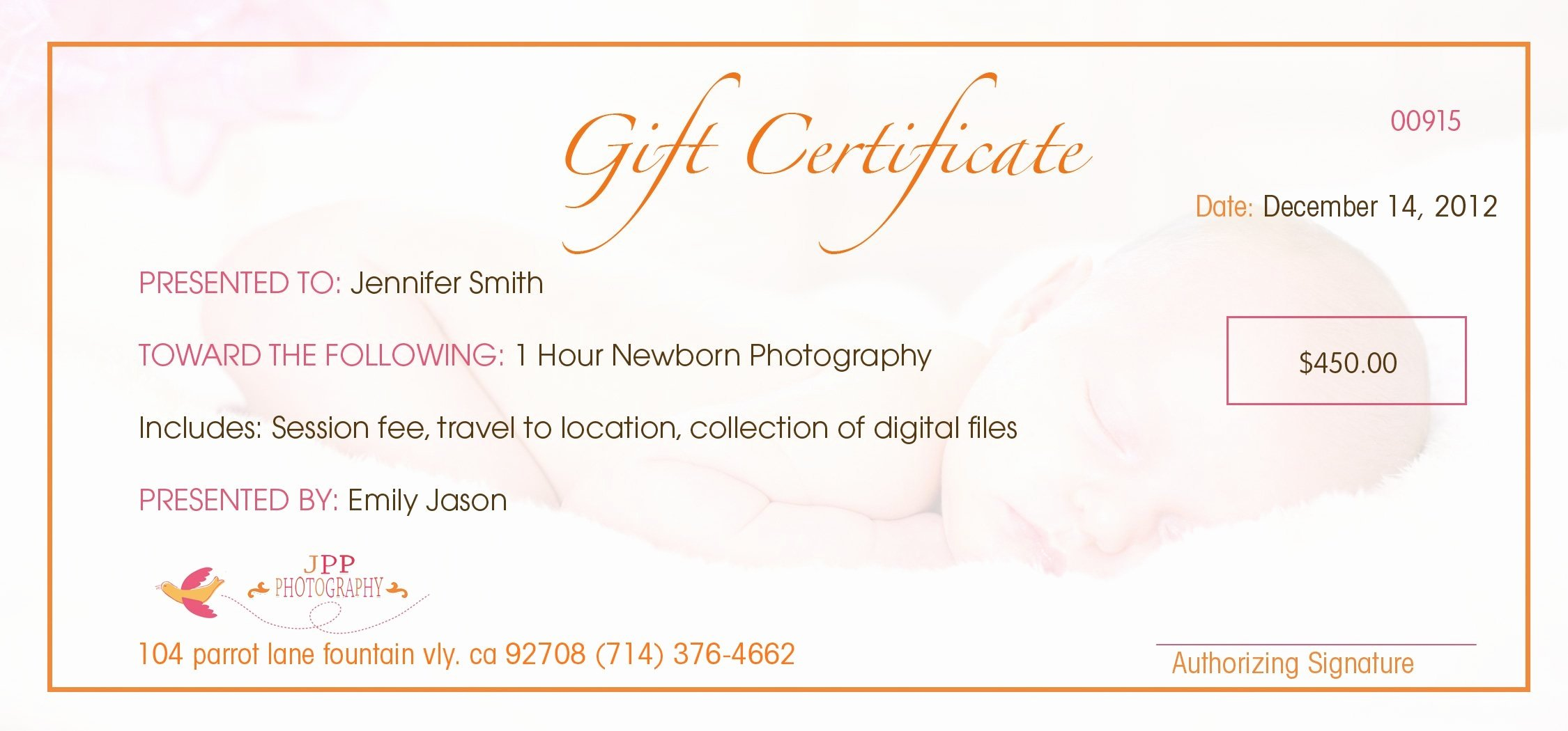 Awesome Free Printable Gift Certificates