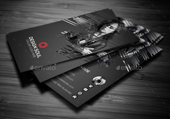 Awesome Grapher Business Cards Templates Best