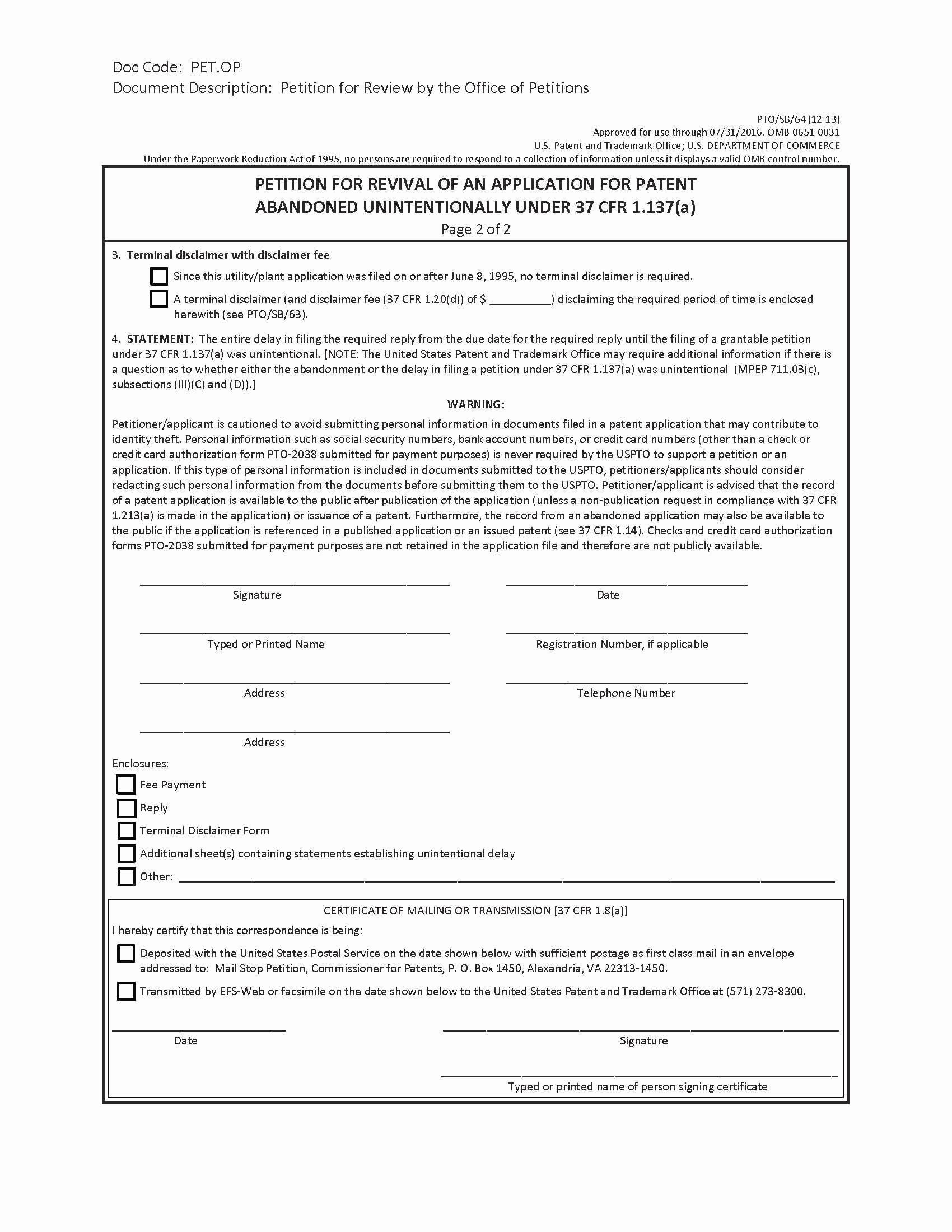 Awesome Provisional Patent Template Doc