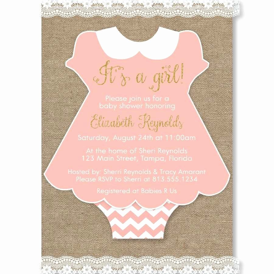 Baby Esie Invitation Template Image Collections