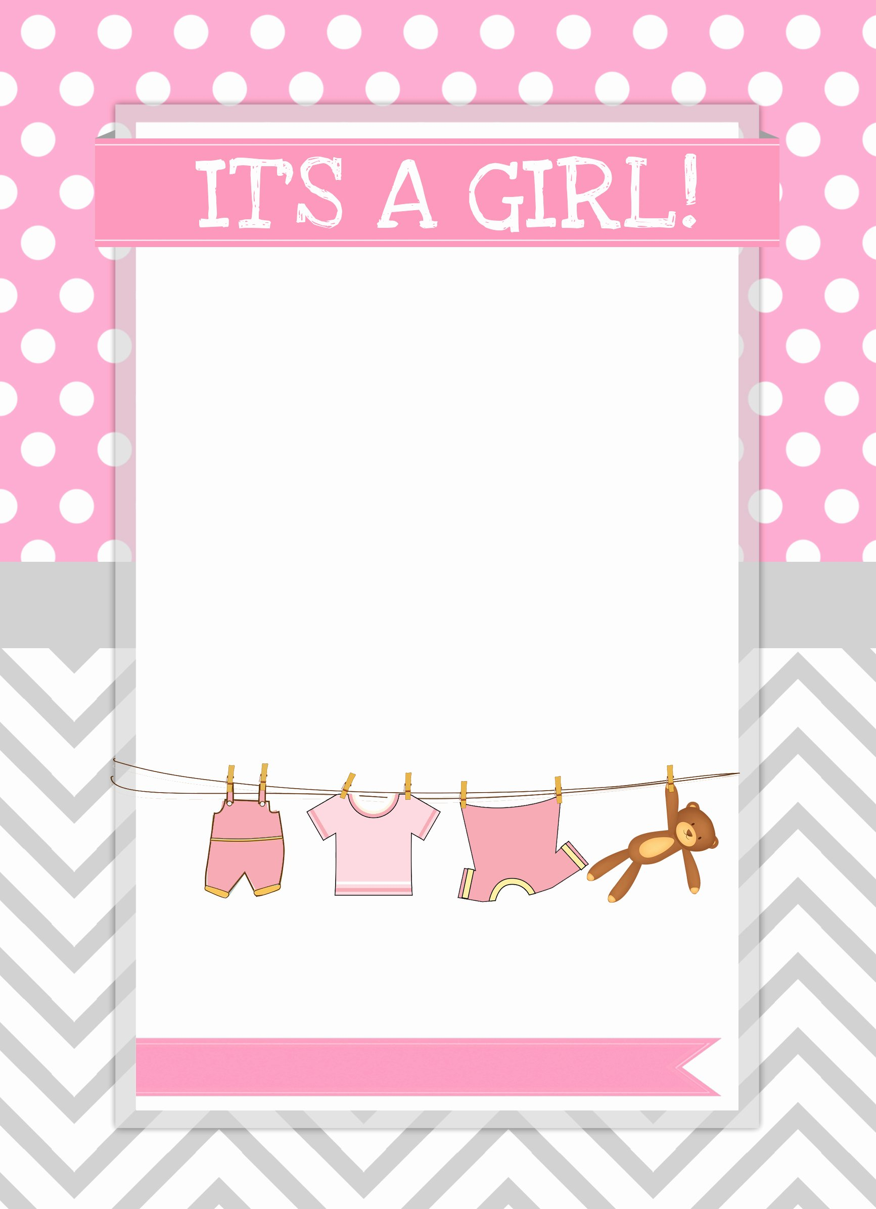 Baby Girl Shower Free Printables How to Nest for Less™