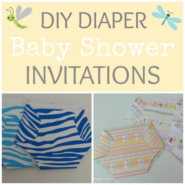 Baby Shower Diaper Invitation – Puddy S House