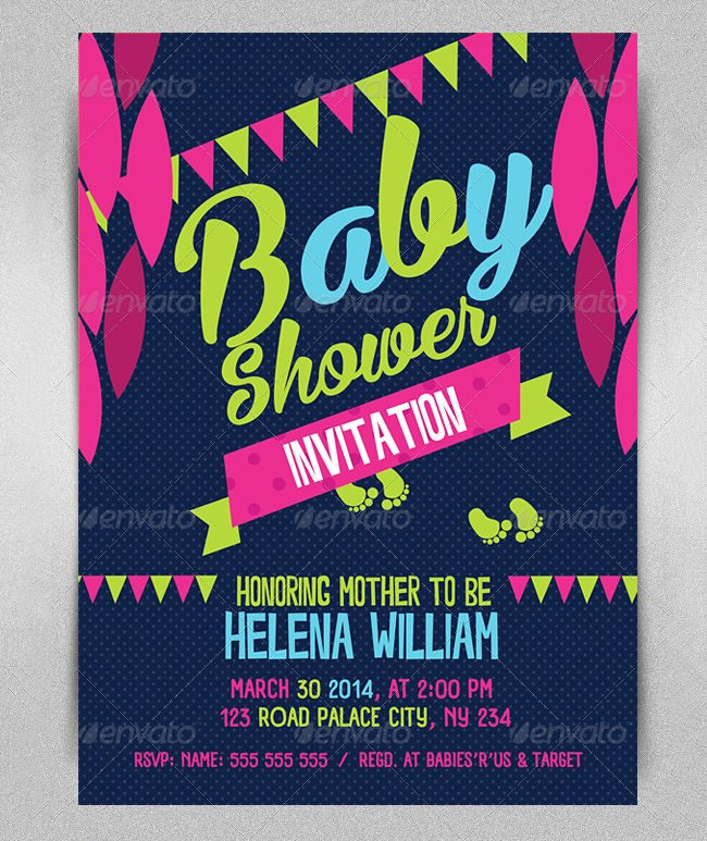 Baby Shower Flyer Template Free Yourweek 5afb13eca25e
