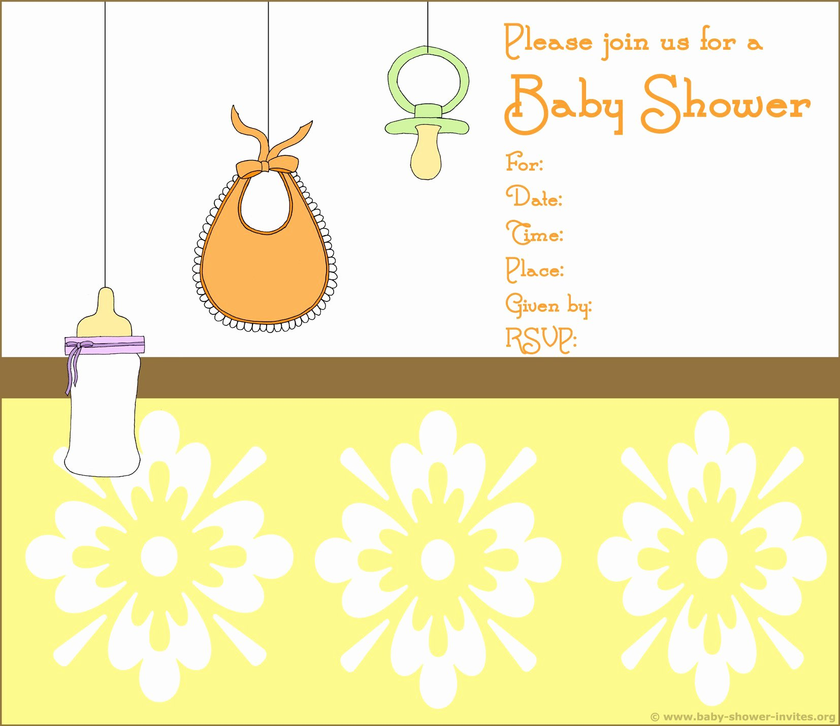 Baby Shower Invitation Free Baby Shower Invitation