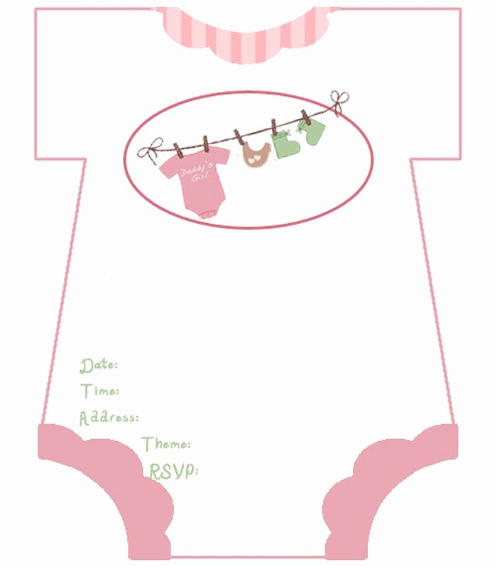 Baby Shower Invitation Free Template Ba Shower Invitation