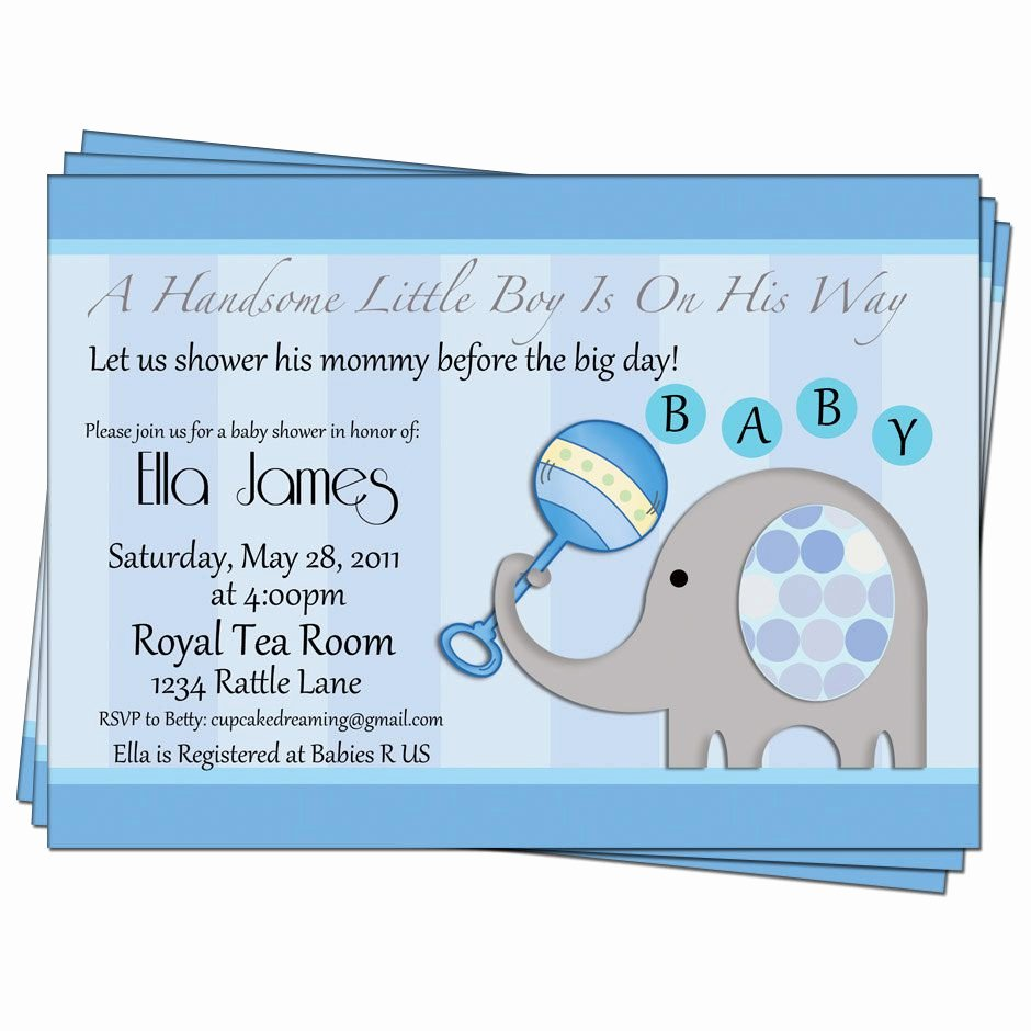 Baby Shower Invitation Printable Baby Shower Invitations
