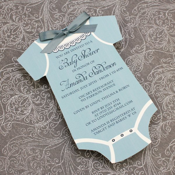 Baby Shower Invitation Template Boys Sie – Download & Print