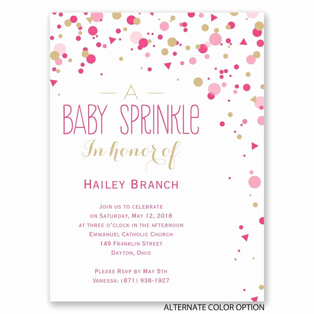Baby Shower Invitation Templates Sprinkle Baby Shower