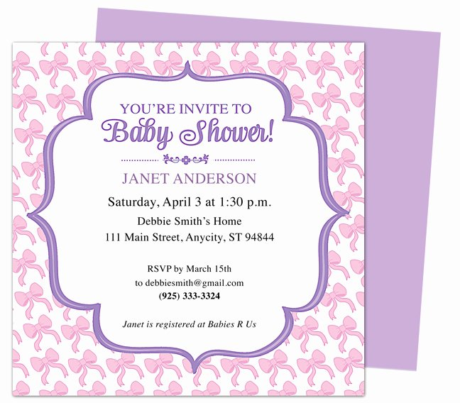 Baby Shower Invitations Baby Shower Invites Templates for