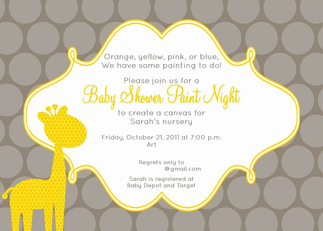 Baby Shower Invite Templates Mughals
