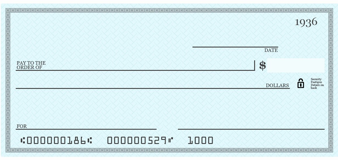 Back Of Check Template How to Write A Check Marek