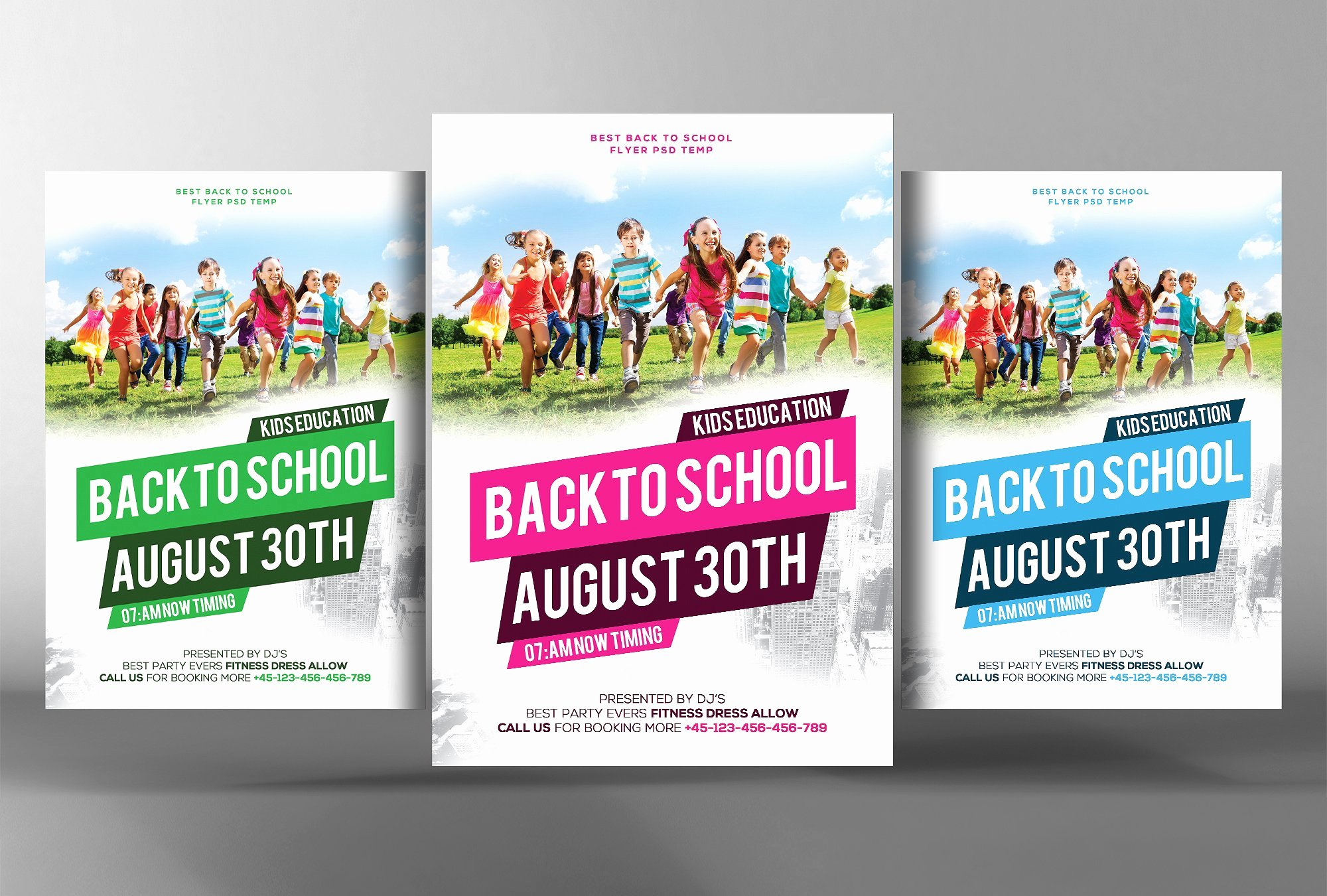 Back to School Flyer Template Flyer Templates Creative