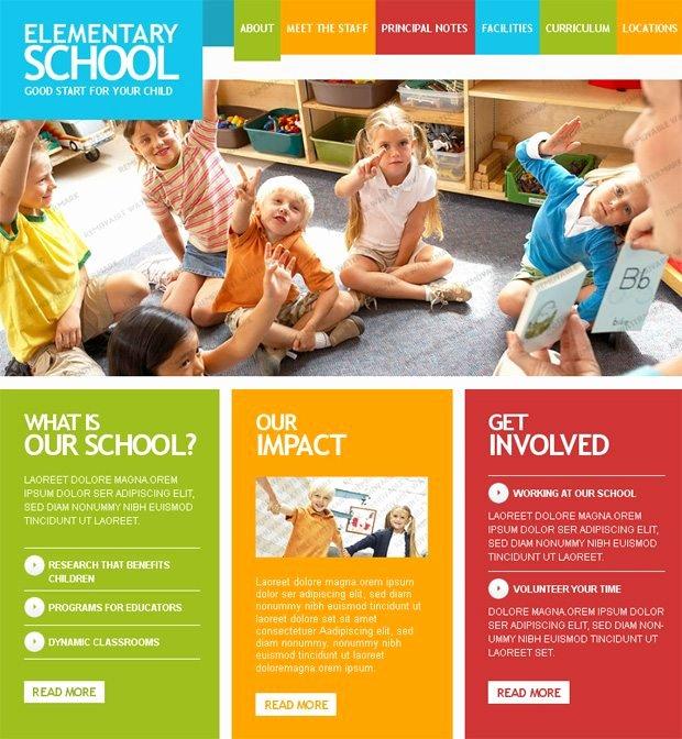 Back to School Last Trends In Educational Website Designs