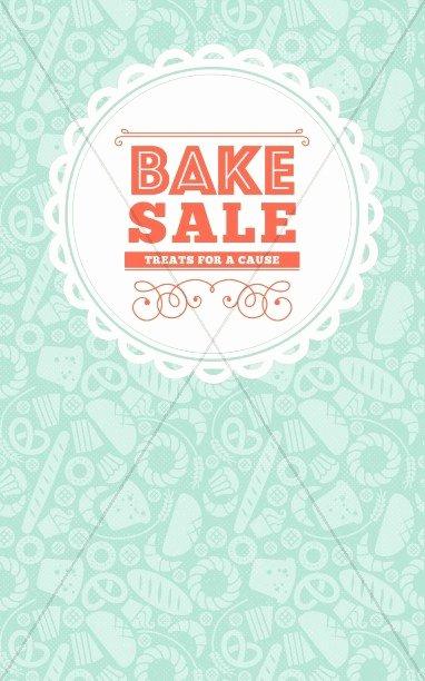 Bake Sale Church Flyer Template