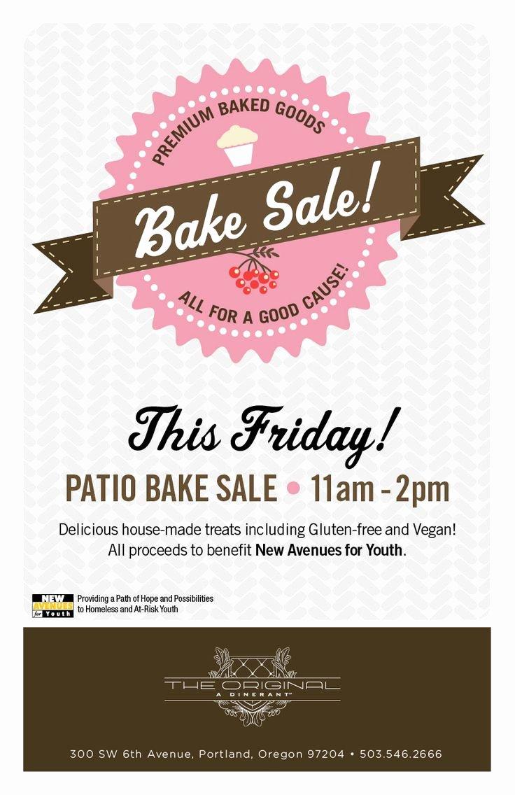 Bake Sale Flyer … Bake Sale Printables