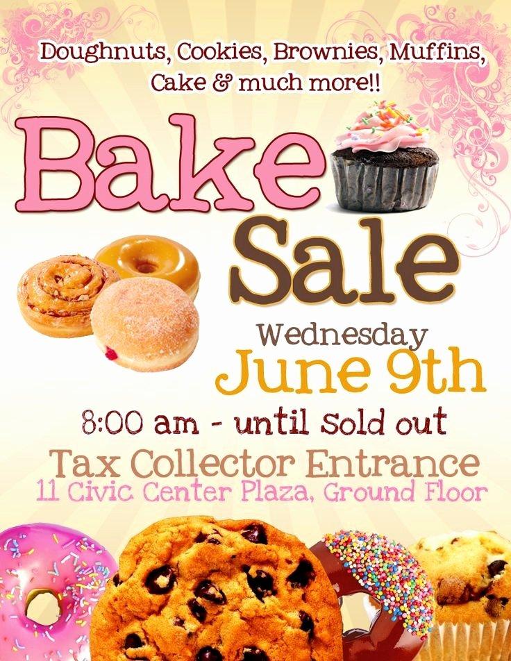 Bake Sale Flyer Template