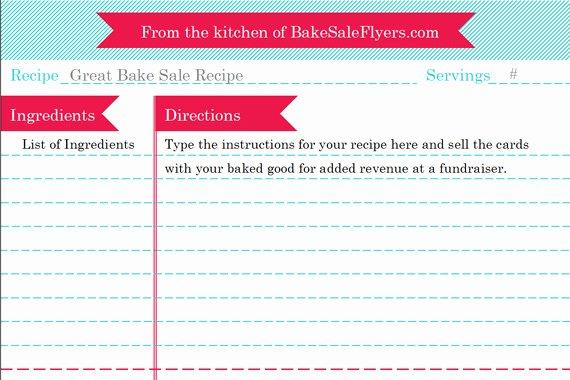 Bake Sale Flyers – Free Flyer Designs