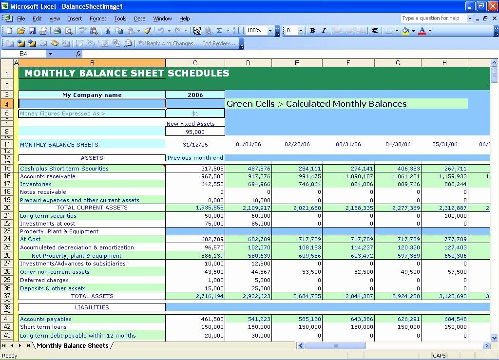 Balance Sheet to Victory