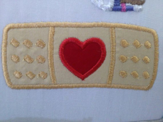 Band Aid Doc Iron On Patch Applique