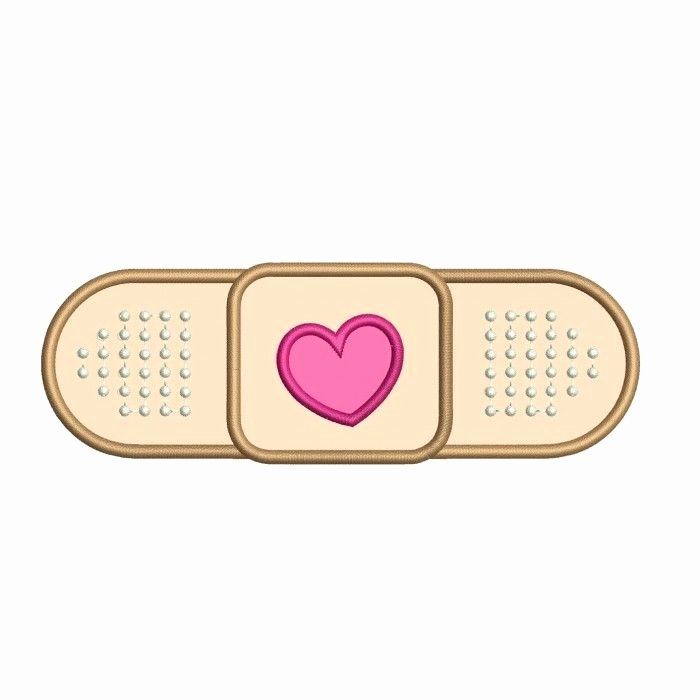 Band Aid for Doc Mcstuffins Medical Applique Digitized