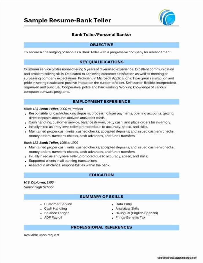 Banking Request for Proposal Template Templates Resume
