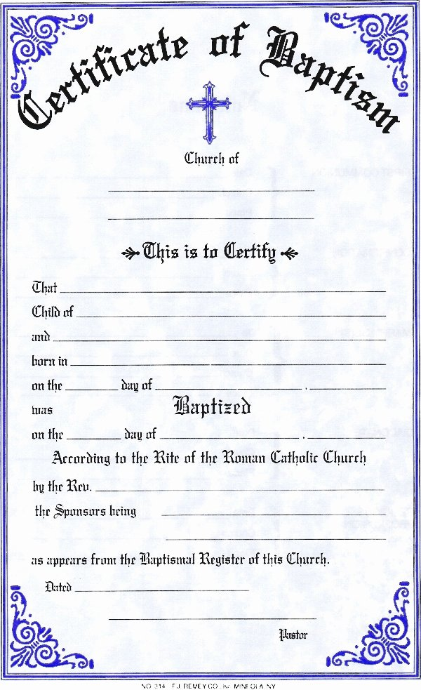 Baptism Certificate Template Invitation Template