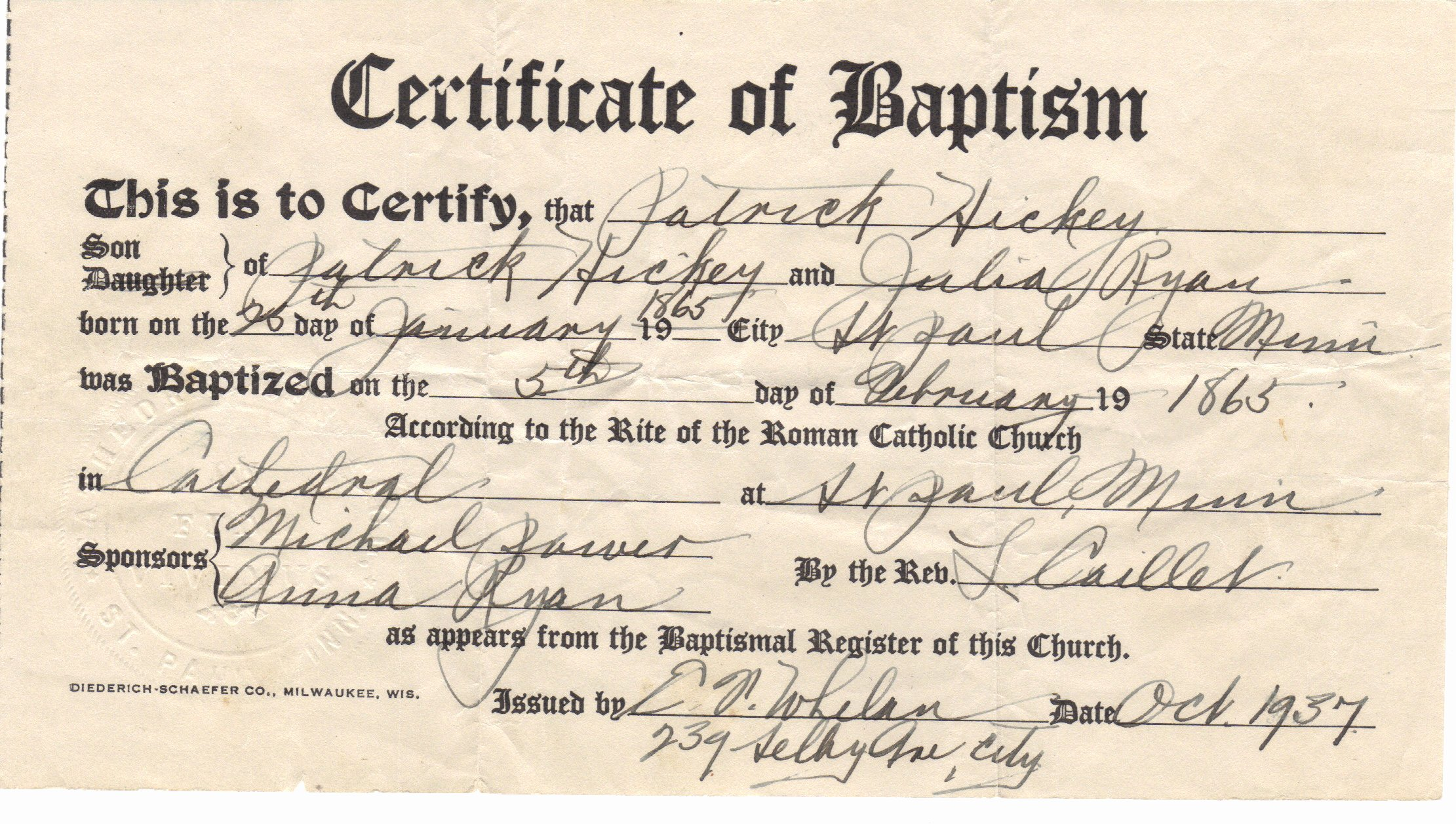 picture about Free Printable Baptism Certificates named Baptism Certification Templates Totally free Printable Victorian