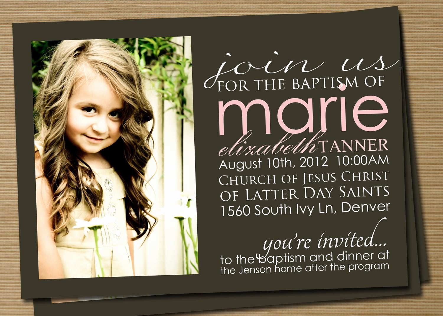 Baptism Invitation Baptism Invitations for Boys New
