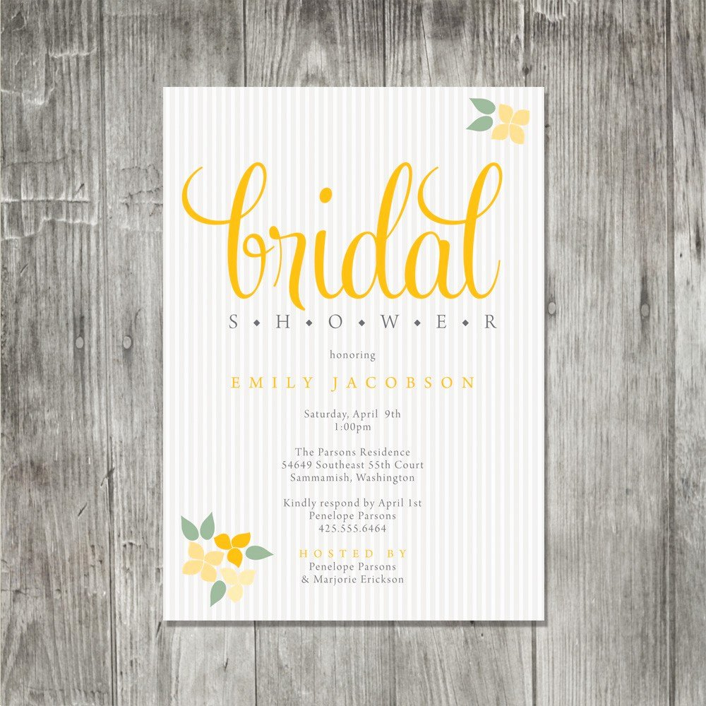 Baptism Invitation Free Bridal Shower Invitation