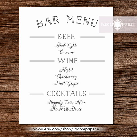 Bar Menu Templates – 35 Free Psd Eps Documents Download