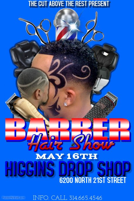 Barber Flyer Template