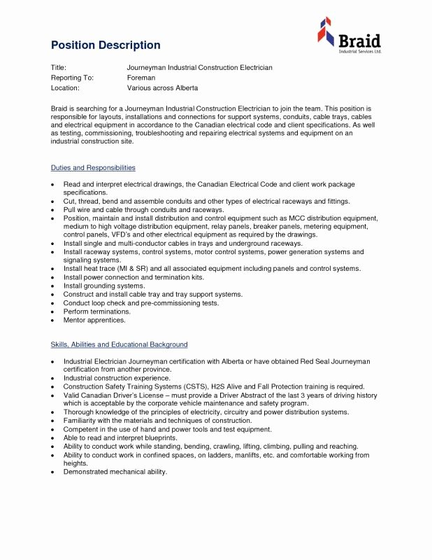 Bartender Job Description for Resume