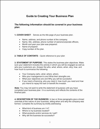 Basic Business Plan Template for Students Sample Of Simple
