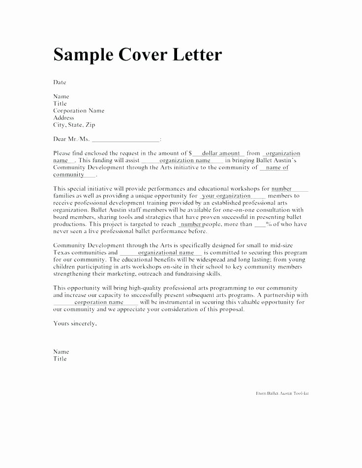 Basic Cover Letters Templates – Creero