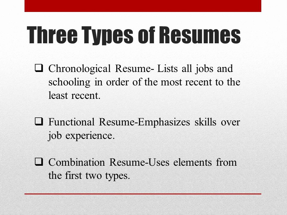 Basic Resume Writing Ppt Video Online
