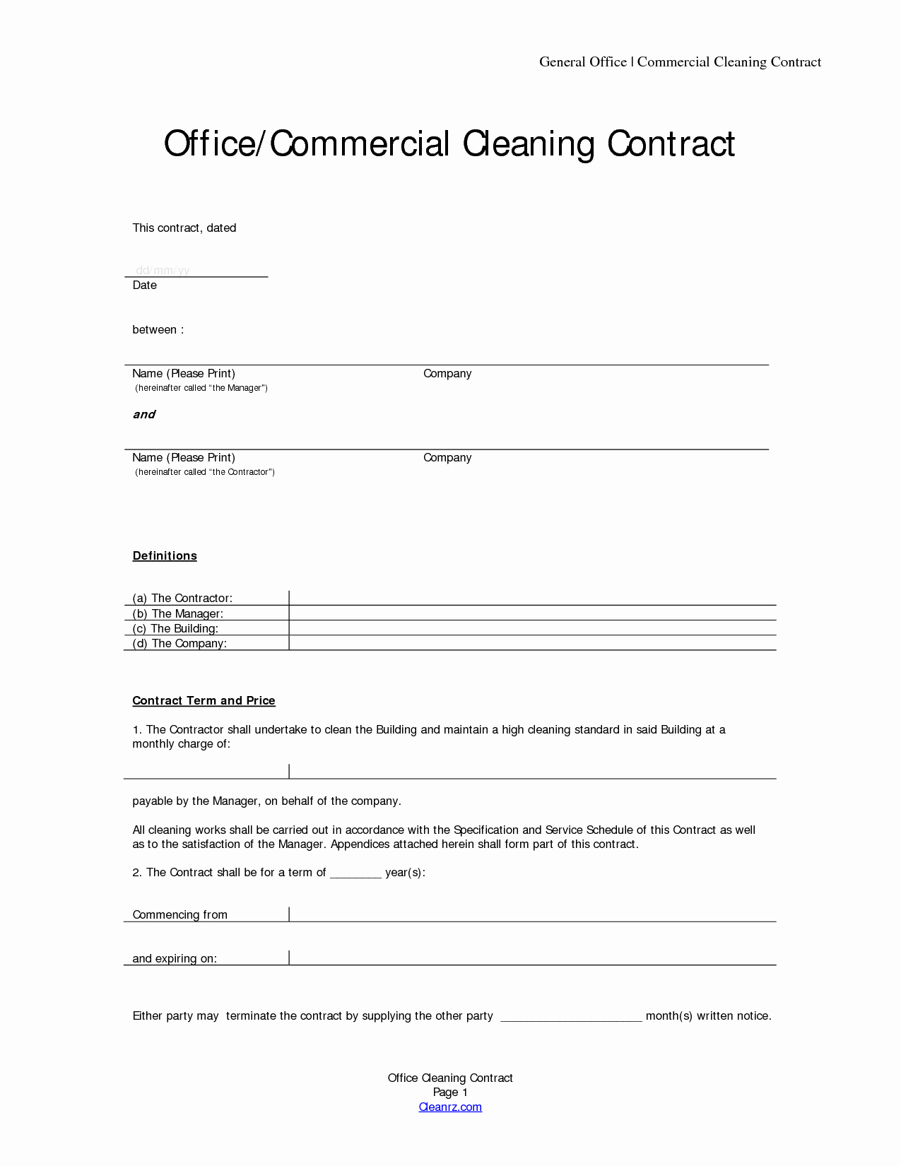 Basic Service Contract Mughals