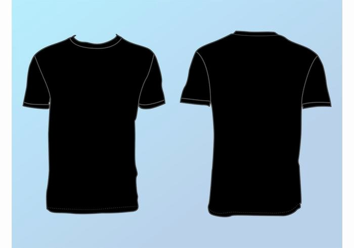 Basic T Shirt Template Download Free Vector Art Stock