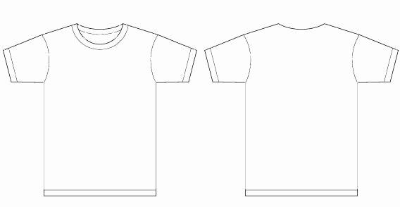 Basic Template Vector T Shirt Templates