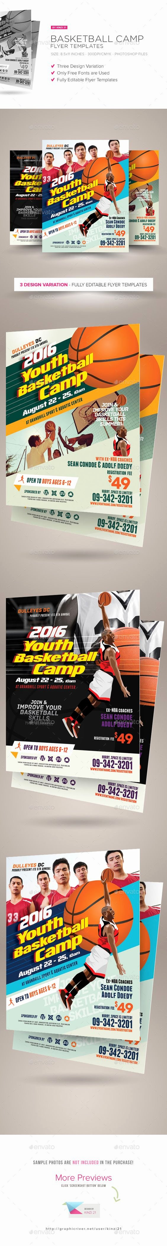 Basketball Camps Flyers and Basketball On Pinterest