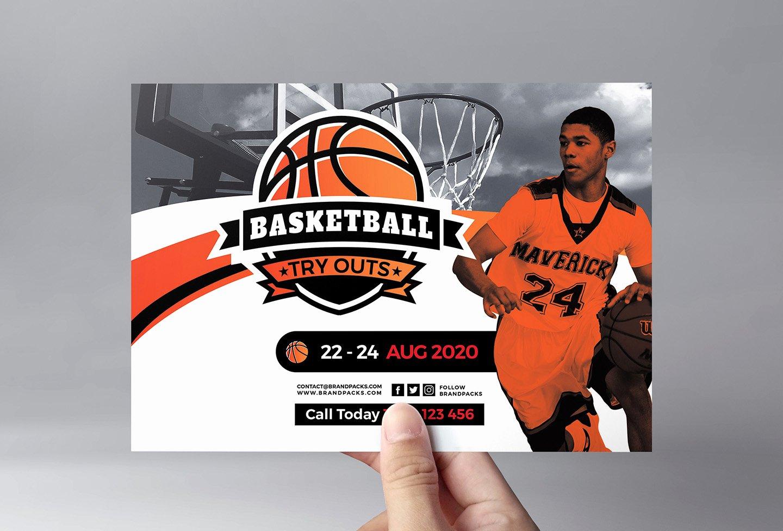 Basketball Flyer Template In Psd Ai & Vector Brandpacks