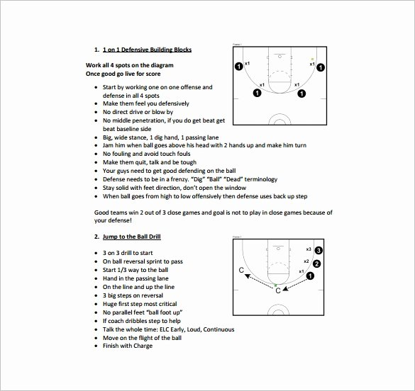 basketball practice plan template
