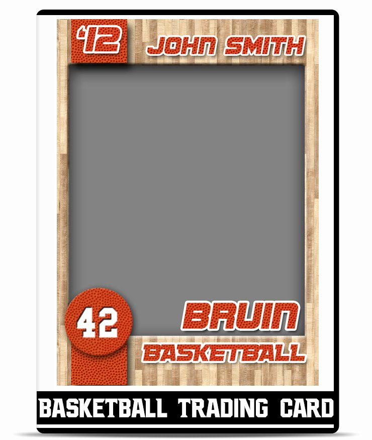 Basketball – Trading Card Template