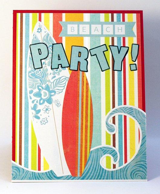 Beach Party Invitations – Scrapmaster S Paradise