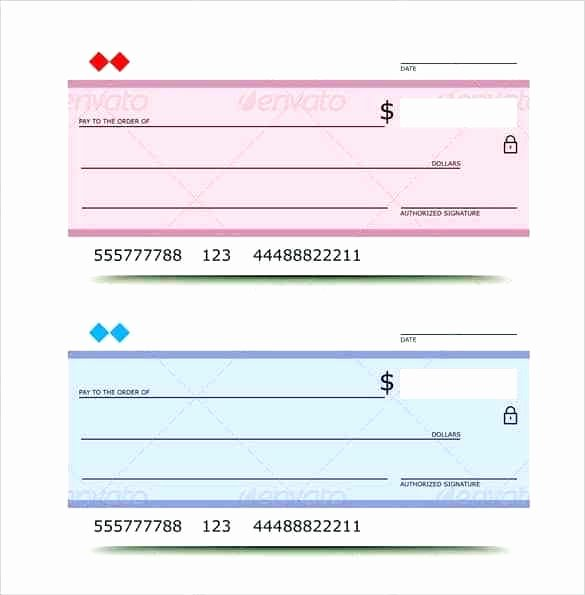 Beautiful Checks Gallery Blank Check Template for Word