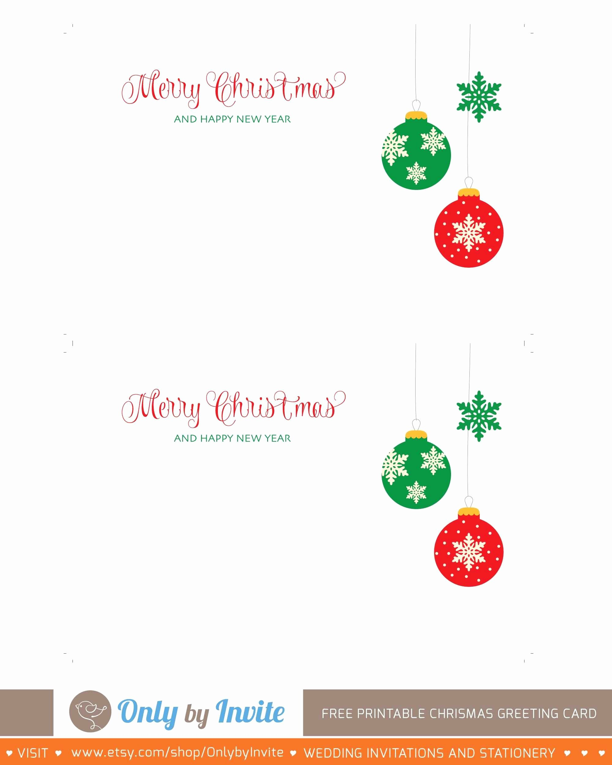 Beautiful Free Printable Holiday Cards