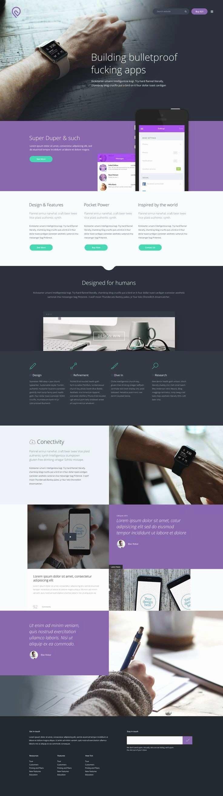 Beautiful Responsive Website Templates Free Download HTML