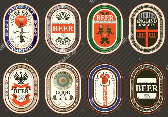 Beer Label Template Gimp Templates Resume Examples