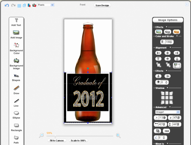 Beer Label Template Word